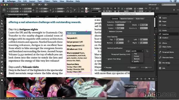 Working with tint boxes: Layout and Composition with InDesign