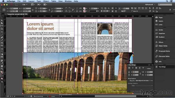 Solution: Create your own two-page spread: Layout and Composition with InDesign