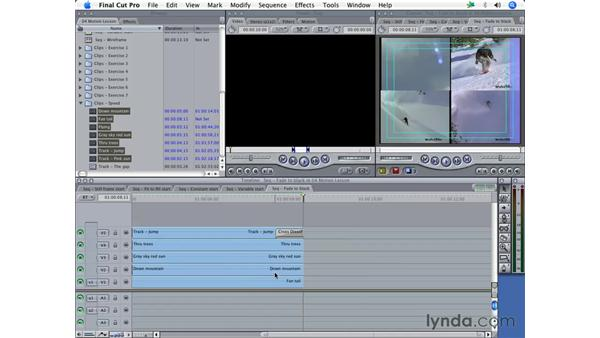 Fading multiple layers to black: Final Cut Pro 5 Essential Effects