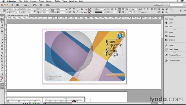 148 Cropping with paste into: InDesign Secrets