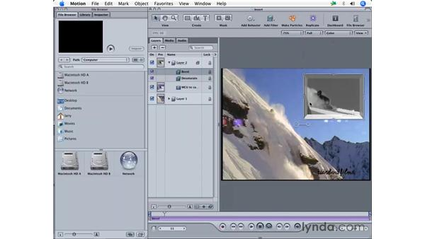 Sending from Motion: Final Cut Pro 5 Essential Effects