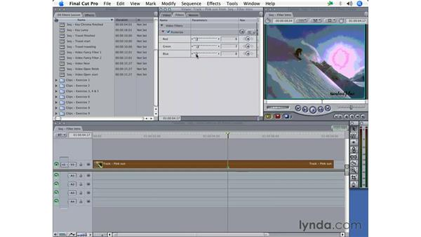 Introduction to video filters: Final Cut Pro 5 Essential Effects