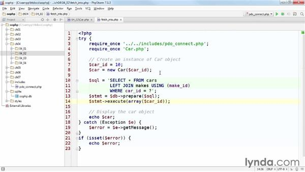 : Accessing Databases with Object-Oriented PHP
