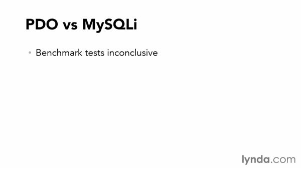 PDO and MySQLi compared: Accessing Databases with Object-Oriented PHP