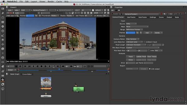 Still-photo camera solves (Nuke X): Nuke 8 New Features