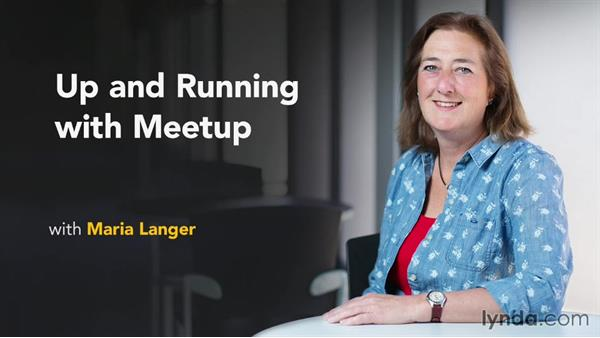 Next steps: Up and Running with Meetup