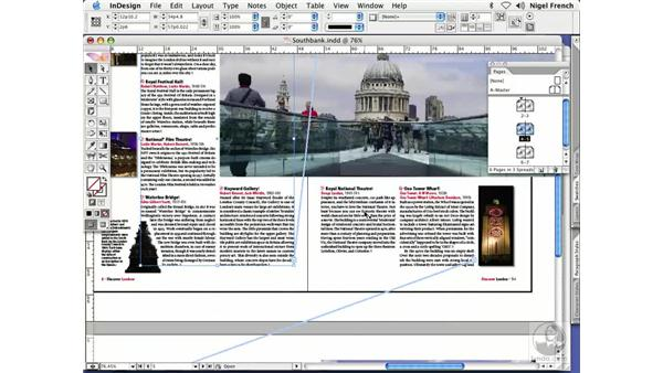 Threading text frames: InDesign CS2 Professional Typography