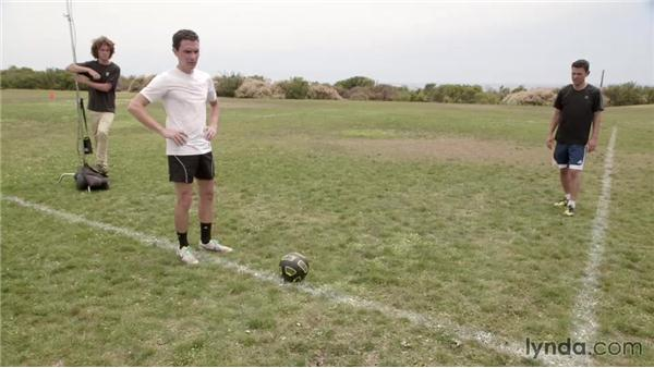 Getting creative and capturing the decisive moment of action: Shooting a Soccer Action Photo