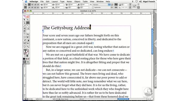 Character formatting options: InDesign CS2 Professional Typography