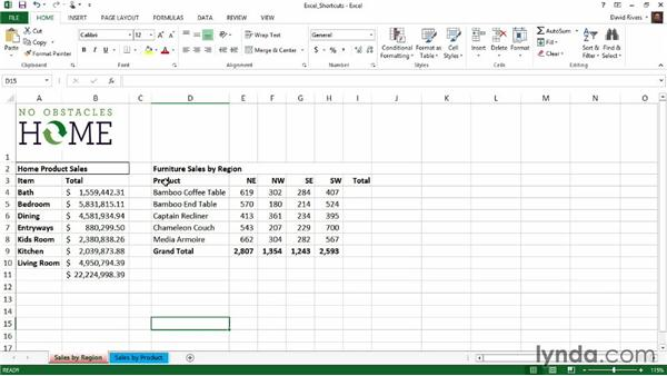 Top 5 Excel shortcuts: Weekly Office Workshop
