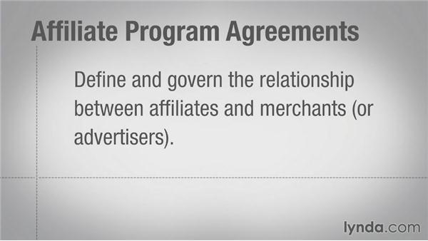 Understanding affiliate agreements: Affiliate Marketing Fundamentals