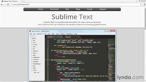 Downloading and installing Sublime Text 2: Customizing Bootstrap 3 with LESS