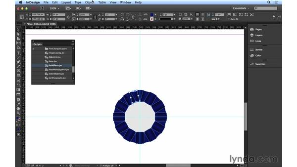 105 Creating a blue ribbon: InDesign FX