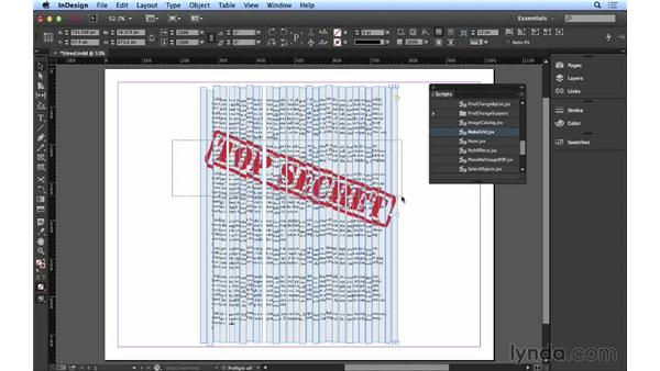 107 Creating a shredded-document effect: InDesign FX
