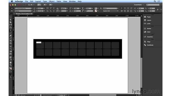 108 Simulating a train-station display board: InDesign FX