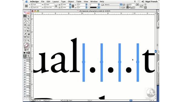 Ellipses: InDesign CS2 Professional Typography