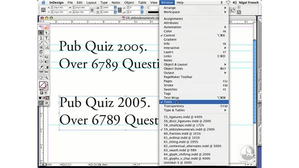 Where are OpenType fonts?: InDesign CS2 Professional Typography