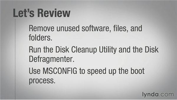 A quick review: Speeding Up Your Home PC for Beginners