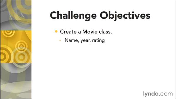 Challenge: Ask for a user's favorite movies: Up and Running with C++