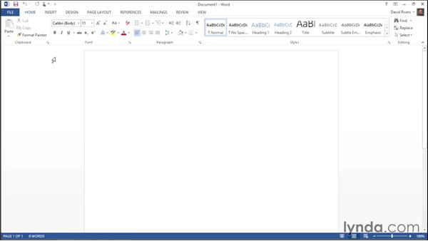 Exploring changes to the user interface: Migrating from Office 2007 to Office 2013