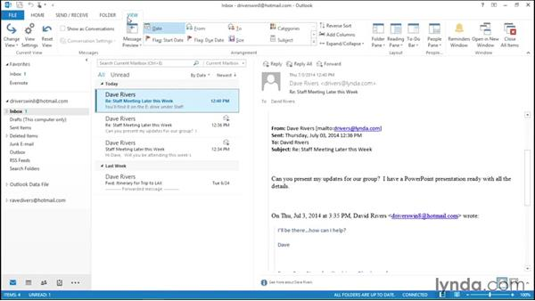 Using inline replies: Migrating from Office 2007 to Office 2013