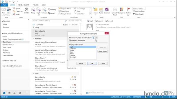 Using the Notes function: Migrating from Office 2007 to Office 2013