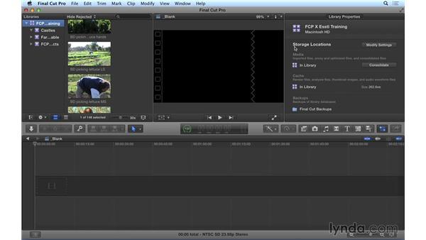 FCP X v. 10.1.2: Media Management Updates: Final Cut Pro X 10.1.x Essential Training