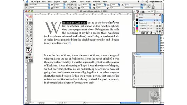 Automating first paragraphs: InDesign CS2 Professional Typography