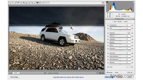 Correcting an overexposed sky (CC 2014): Photoshop CC for Photographers: Camera Raw 8 Intermediate