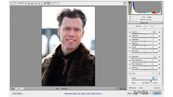 Improving exposure and adding blur (CC 2014): Photoshop CC for Photographers: Camera Raw 8 Intermediate