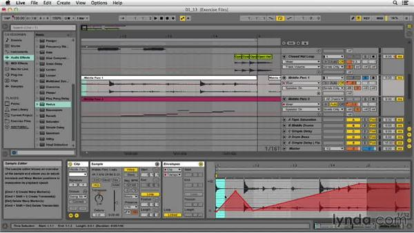 Working with clip-based automation: EDM Production Techniques: Drums