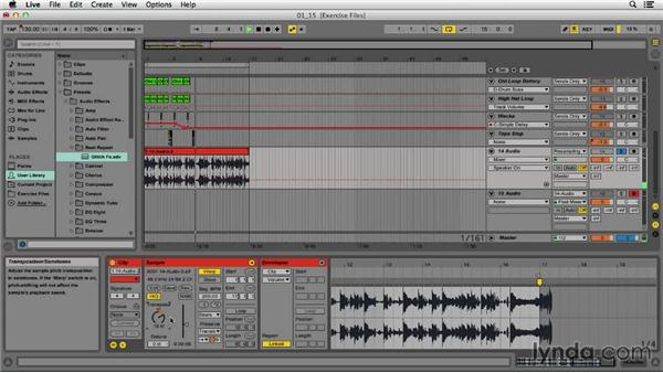 Creating time-expansion glitch effects: EDM Production Techniques: Drums