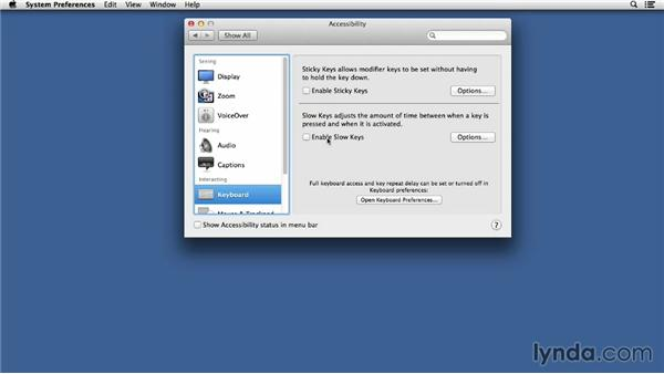 Navigating the system preferences: Up and Running with Mac OS X Troubleshooting