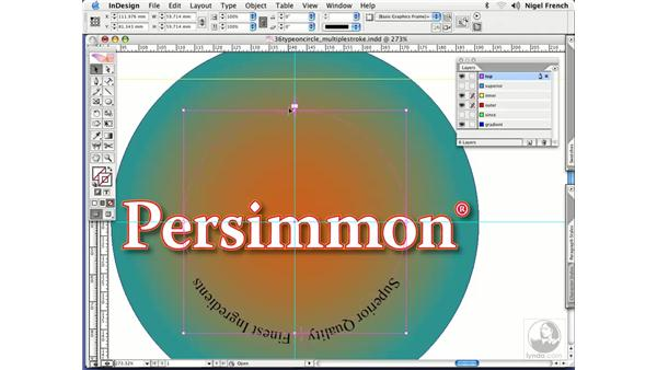 Type on a circle: InDesign CS2 Professional Typography