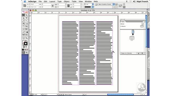 Setting margins: InDesign CS2 Professional Typography