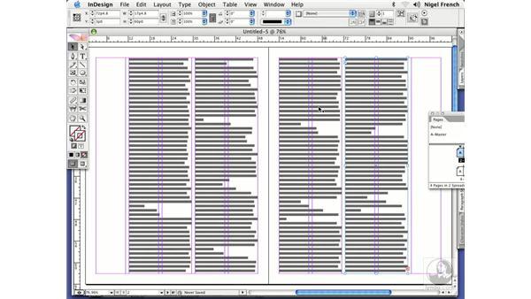 Column grid strategies: InDesign CS2 Professional Typography