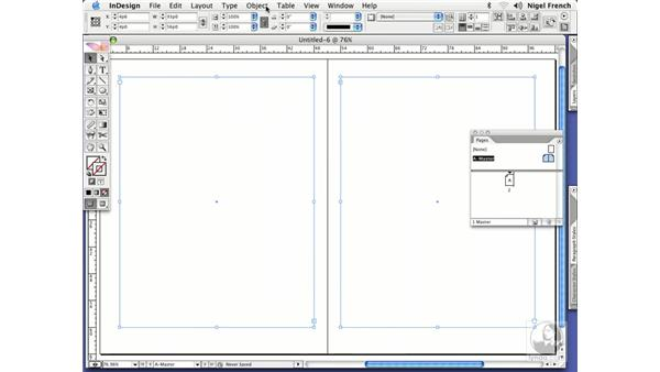 Using fixed column width: InDesign CS2 Professional Typography