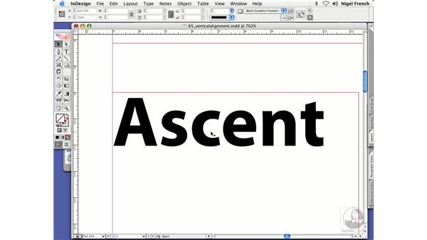 First baseline options: InDesign CS2 Professional Typography