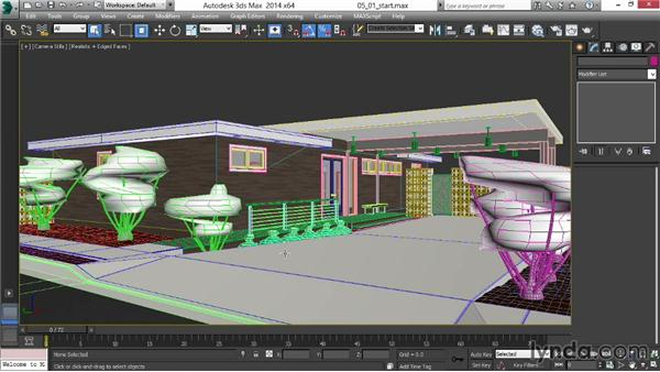 Using the exercise files: Rendering Exteriors in 3ds Max