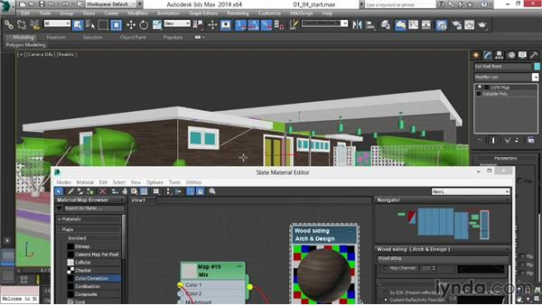 Adding subtle detail to wood and siding: Rendering Exteriors in 3ds Max