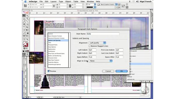 Working with baseline grids: InDesign CS2 Professional Typography