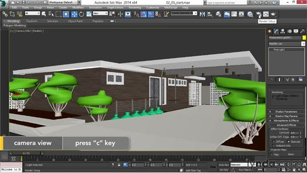 Adding extra lights for glossy surfaces: Rendering Exteriors in 3ds Max