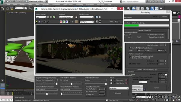 Fine-tuning Final Gather for speed: Rendering Exteriors in 3ds Max