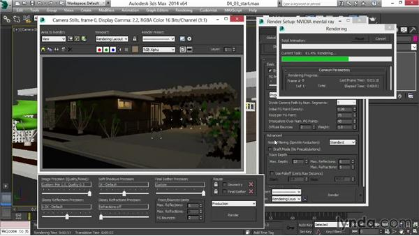 Pushing Global Illumination values for visual impact: Rendering Exteriors in 3ds Max
