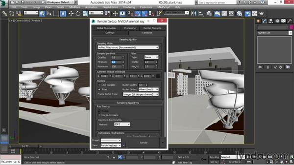 Rendering the image passes: Rendering Exteriors in 3ds Max