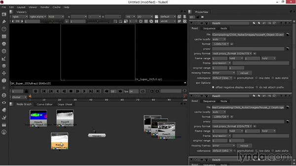 Importing the imagery and arranging the layers: Rendering Exteriors in 3ds Max