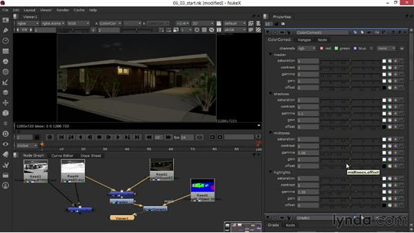 Fine-tuning color using rendered masks: Rendering Exteriors in 3ds Max