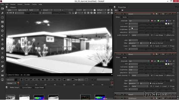 Putting on the final polish with glinting highlights and glow: Rendering Exteriors in 3ds Max