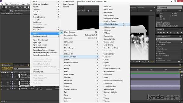 Adding depth of field: Rendering Exteriors in 3ds Max