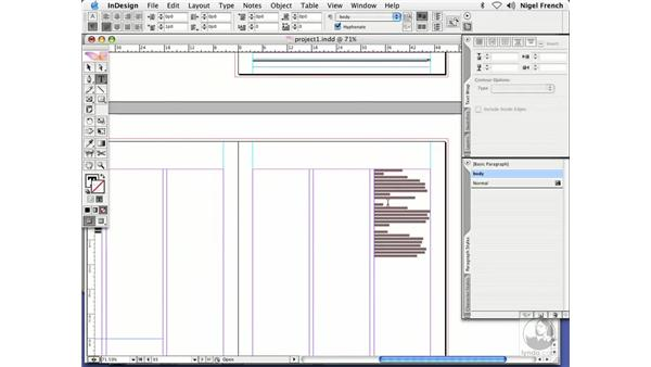 Text flow: InDesign CS2 Professional Typography